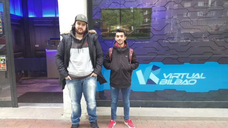 Jon Sanchez Molina, 3D2-ko ikaslea naiz eta Virtual Bilbao-n praktikak hasi ditut