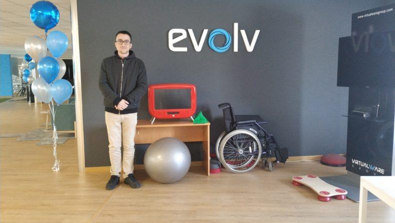 Gorka Yanguas, 3D2-ko ikaslea naiz eta Evolv-en praktikak hasi ditut