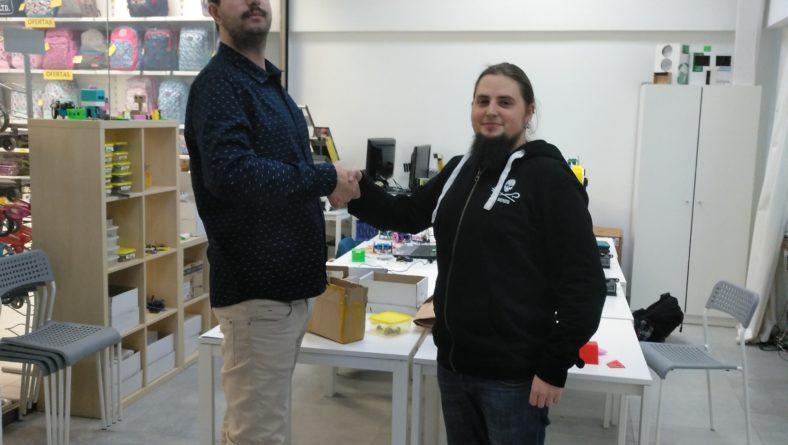 Asier Elosua 3D2-ko ikaslea Txikitech praktikak experientzia