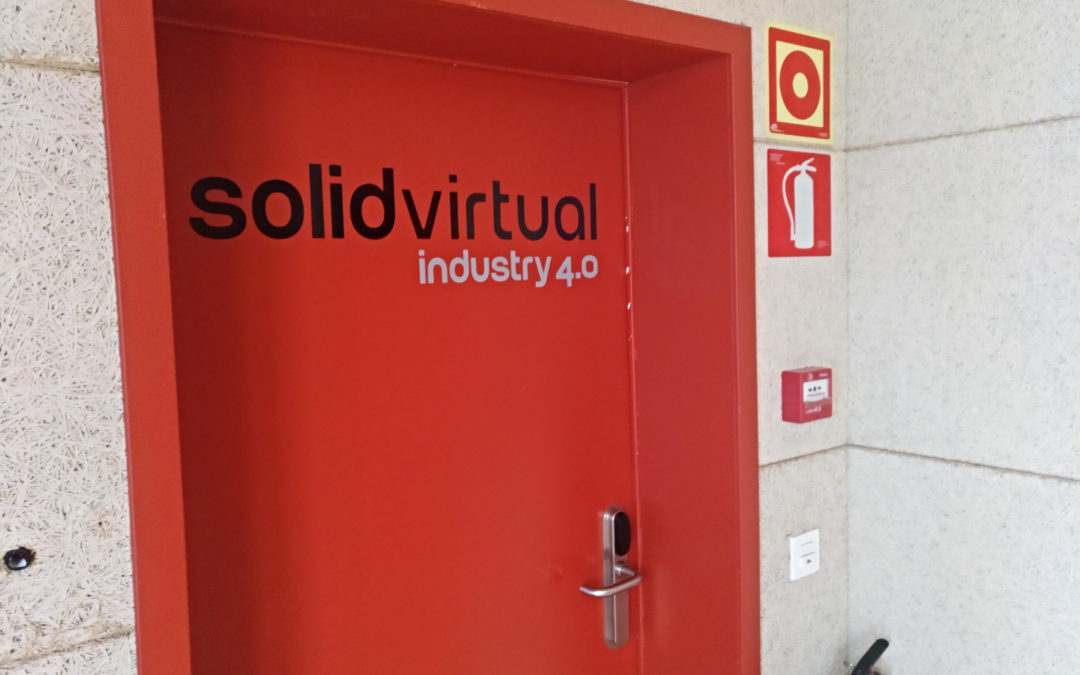 Daniel Mogollon 3D2-ko ikaslea praktikak hasi ditu Solid Virtual-en.